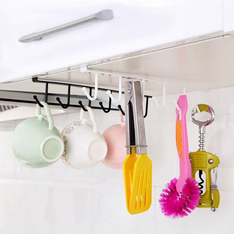 Multipurpose Kitchen Cabinet Hanging Storage Rack Water Cup