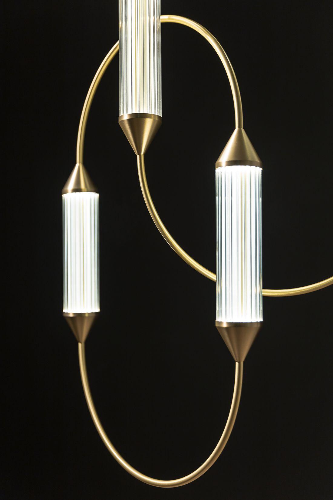 Sculptural Ornamental Lighting From