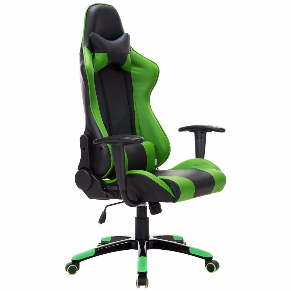 Awesome Goplus Schienale Alto Stile Racing Gioco Sedia Poltrona Uwap Interior Chair Design Uwaporg