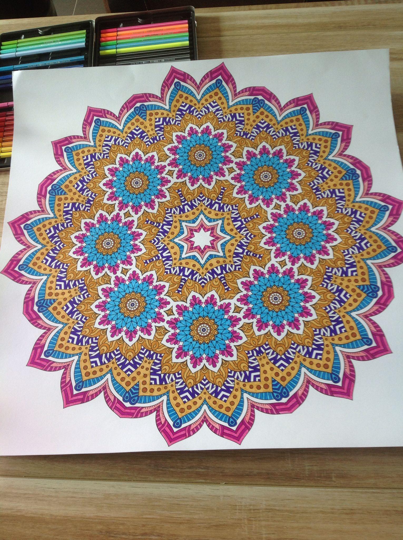 Geniaal Mandala Kleurplaten Om In Te Kleuren