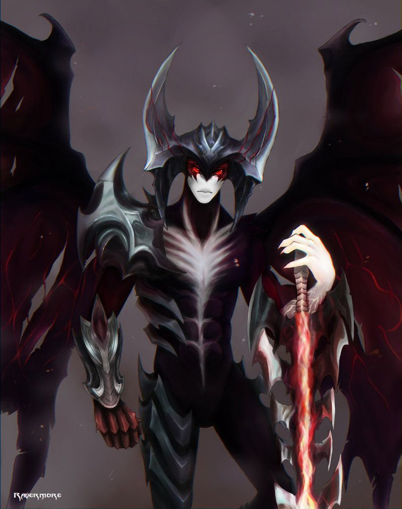 League of Legends: Aatrox by Ravermore on DeviantArt