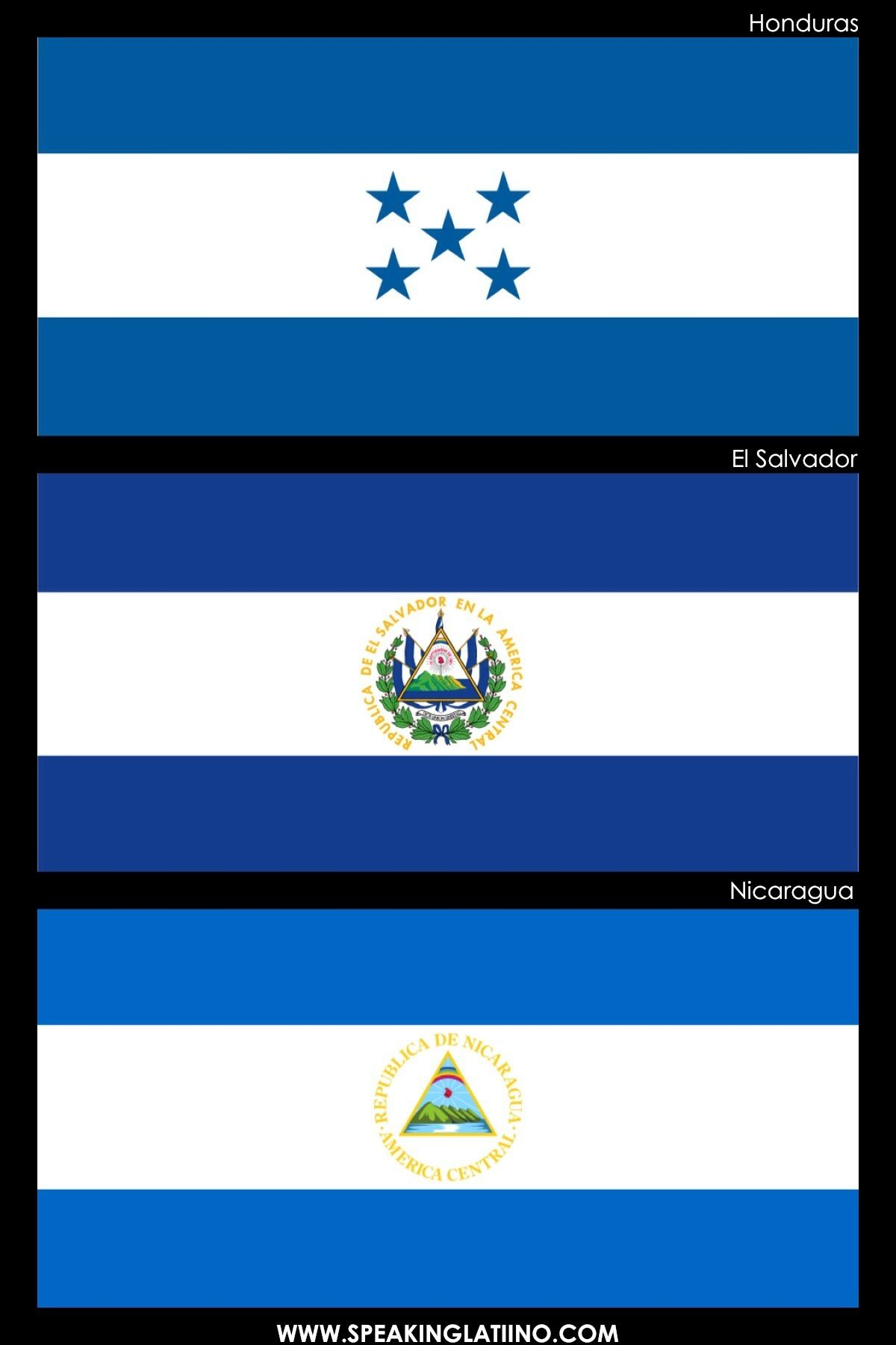 Hispanic Flags With Similar Flags From Around The World Hispanic Flags Flags Of The World Spanish Culture