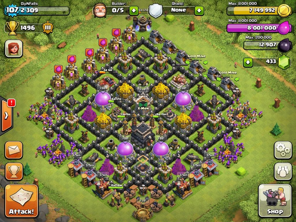 Th Lvl 9 Farming Base 9