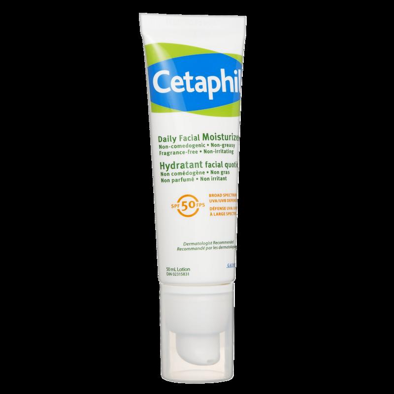 Cetaphil Daily Facial Moisturizer Fragrance Free 50ml Fragrance Free Products Cetaphil Facial Moisturizers
