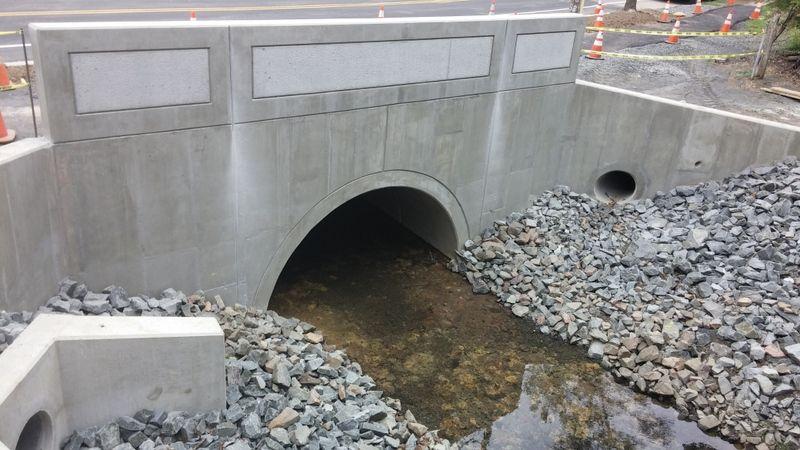 Eco Span Arch Bridges Faddis Concrete Culvert Precast Concrete Bridge