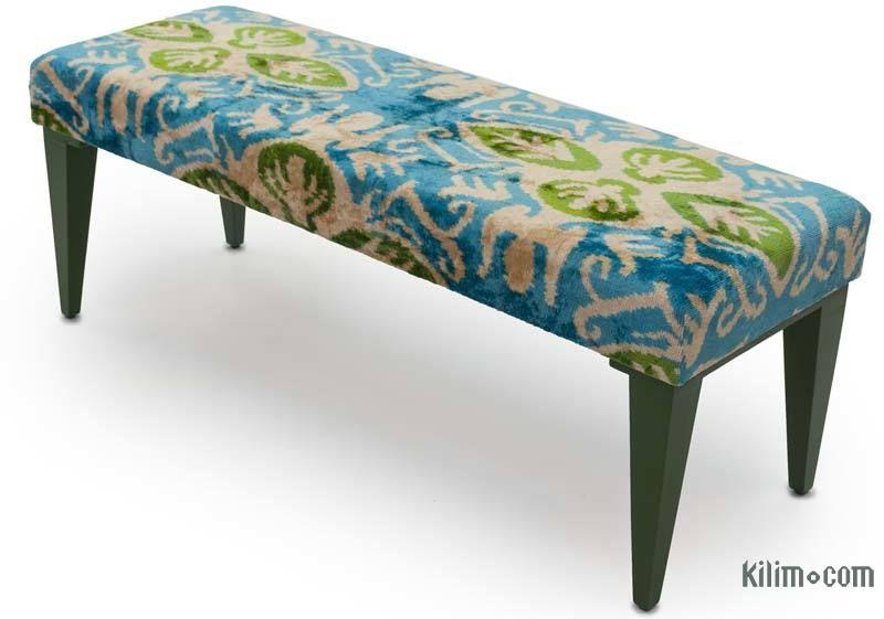 Astounding Ikat Bench Furniture In 2019 Bench Fabric Ottoman Inzonedesignstudio Interior Chair Design Inzonedesignstudiocom