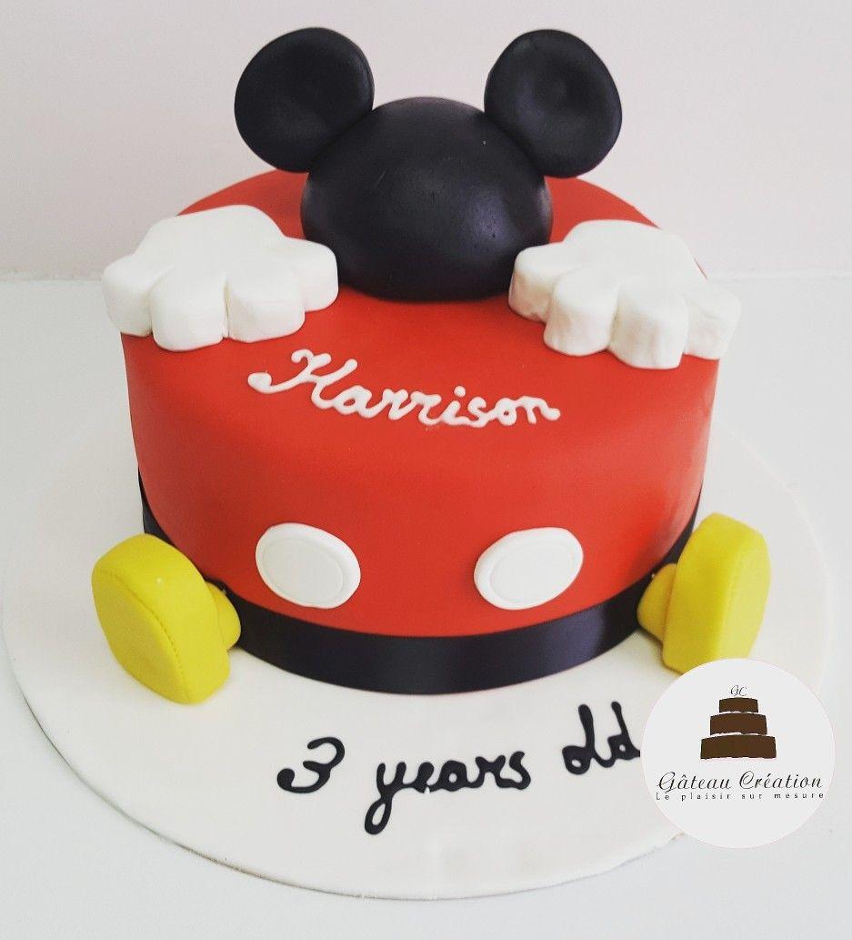 Gteau Danniversaire Sur Le Thme De Mickey Mouse Commandez Ds Votree Aujourdhui Votre Notre Site Internet Et Faites Vous Livrer Chez Toute