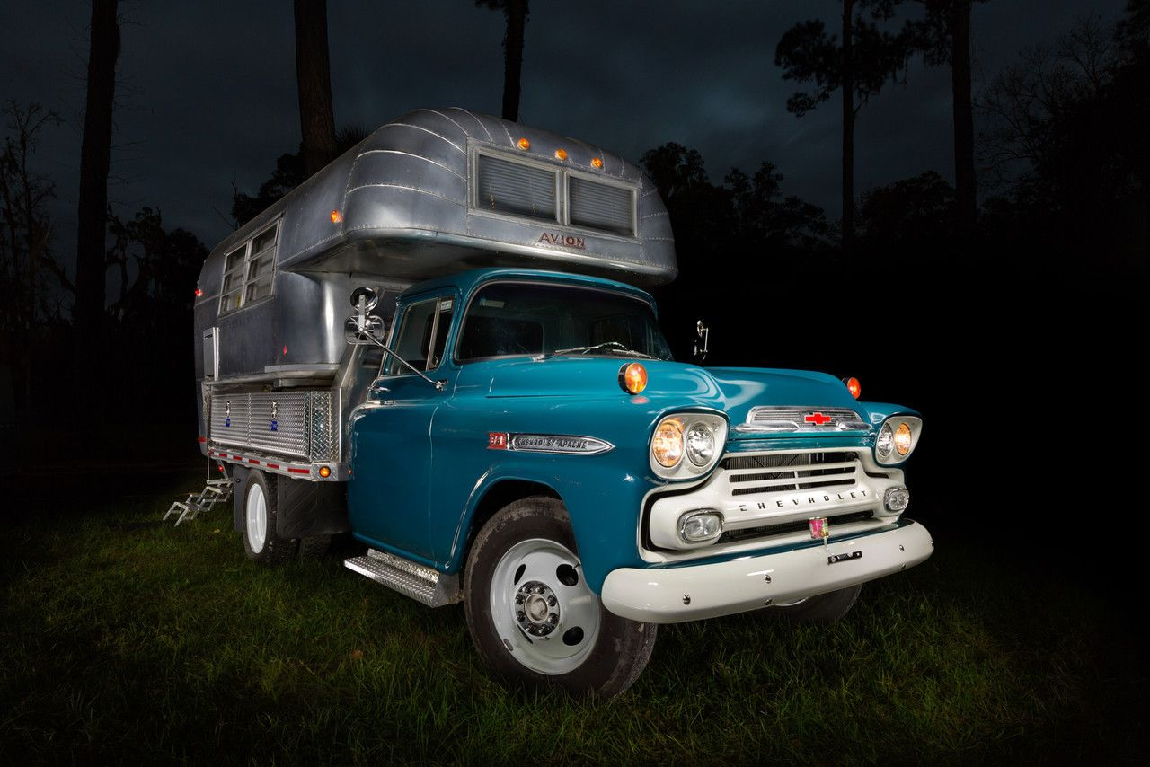 Pin by Keith Barber on Chevy apache Classic campers