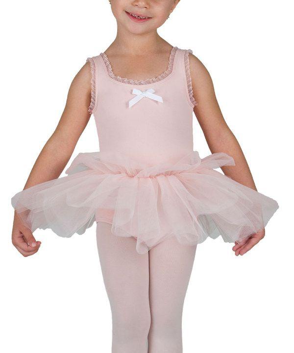 0947180b6 Look at this Danskin Petal Pink Tutu Leotard - Toddler   Girls on ...