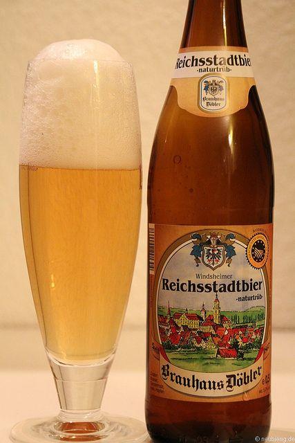 Reichsstadtbier vom Brauhaus Döbler aus Bad Windsheim    www.brauhaus-doebler.de