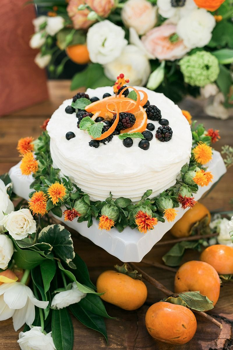 Charming Blue and Orange Wedding Ideas