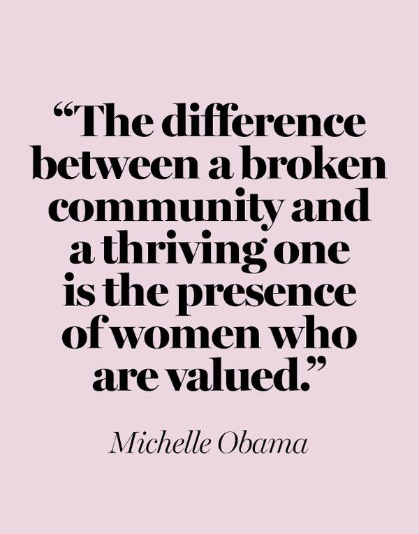 10 Michelle Obama Quotes We Need Now More Than Ever | Glamour | Michelle  obama quotes, Obama quote, Feminist quotes