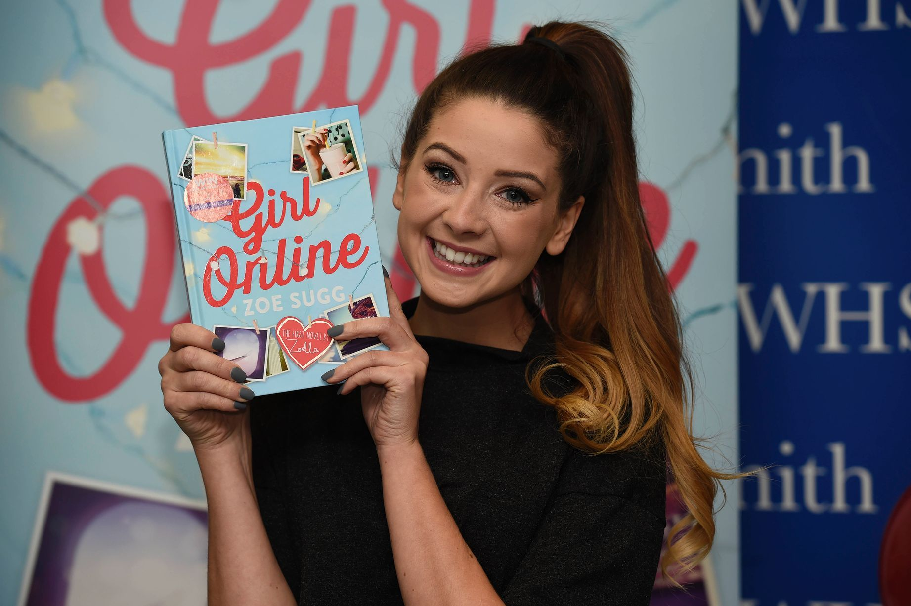 In pictures: Beauty blogger Zoella greeted by excited fans at book ...
