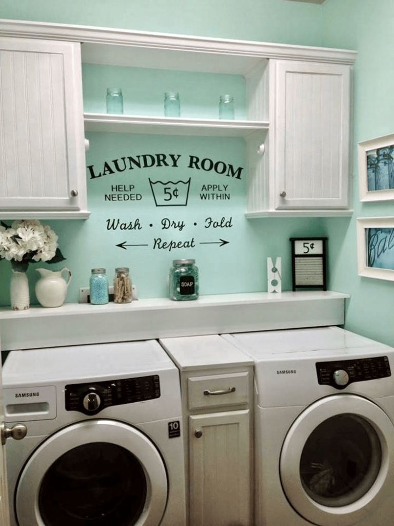 Cute laundry painting ideas laundry room in 2019