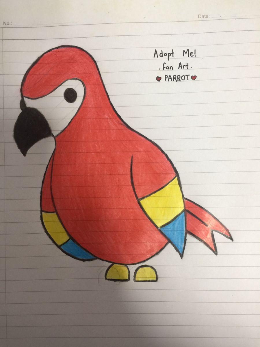 Pin By 1adoptmefan1 On Adopt Me Fan Art Pets Drawing Cute Easy Drawings Pet Shop Logo