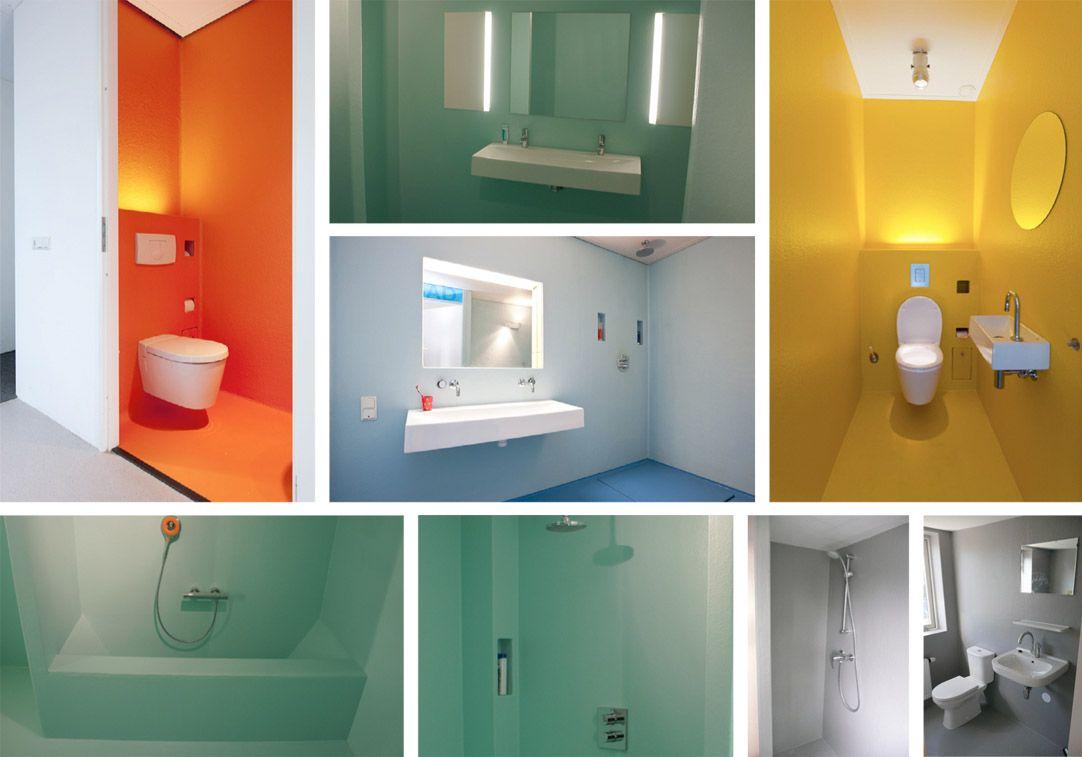 Polyester badkamer voor Ilse en Anton | Stukken