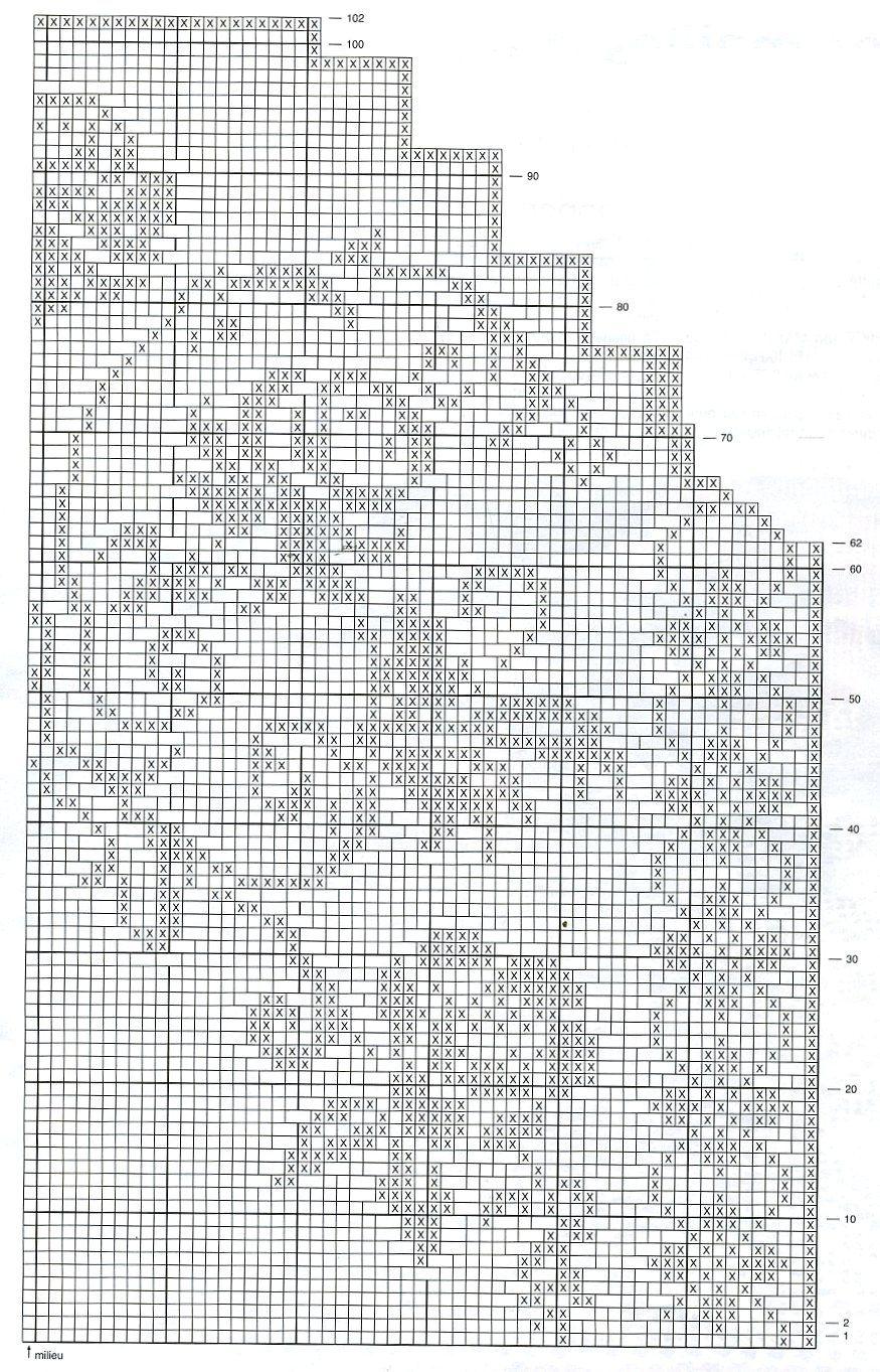 Awesome Filet Herz Häkelmuster Festooning - Decke Stricken Muster ...