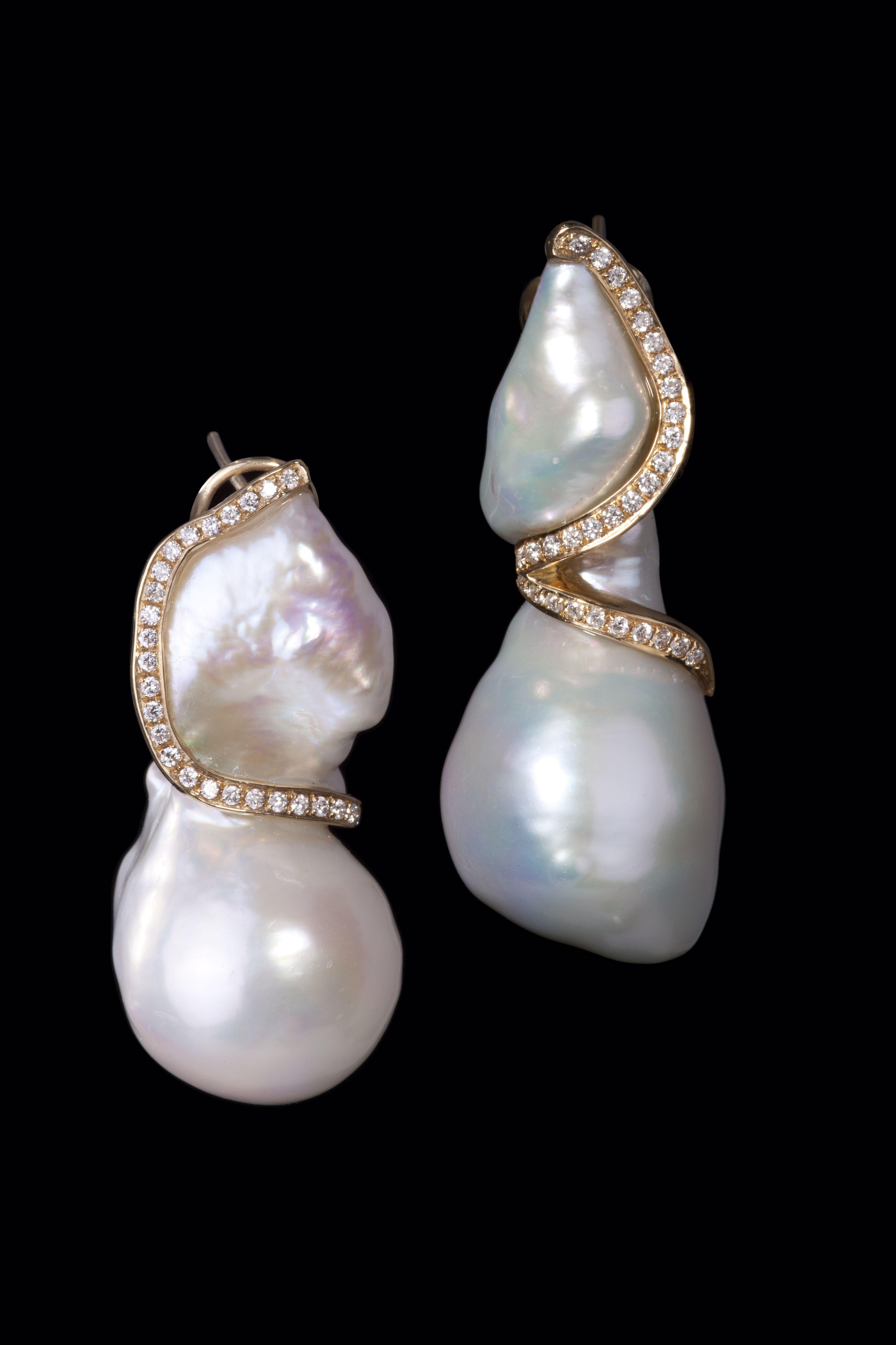 Baroque Pearl Earrings Jewelry Pearl Earrings Pearls
