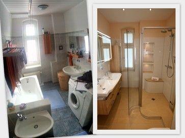 vor der sanierung war dieses badezimmer eher unaufger umt stauraum war mangelware diese. Black Bedroom Furniture Sets. Home Design Ideas