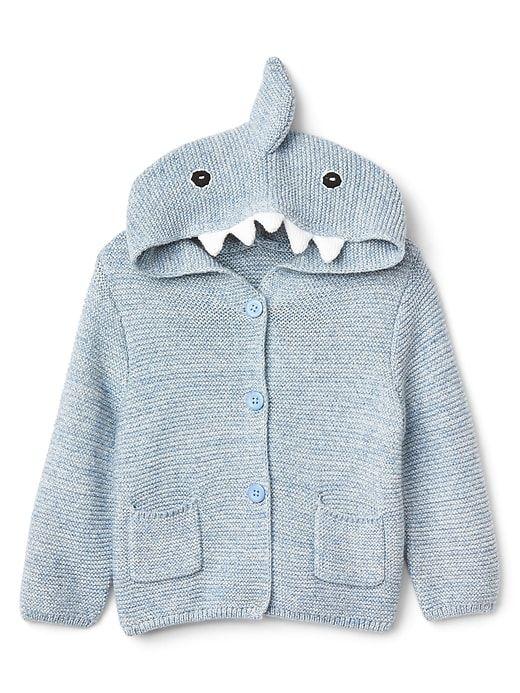 e041eeea9 Shark Garter Hoodie Sweater | Gap | Gifts: Baby & Child | Sweater ...