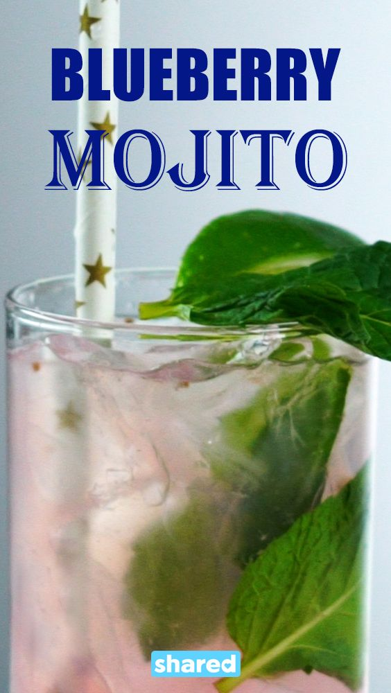 A nice refreshing mojito is what we all really want. The only thing better than that is this Blueberry Mojito that gives your favorite drink a blast of berry flavor that you will love!  The berries really give it that special extra something that you probably didn't know it was missing, but you are absolutely going to love as soon as you try it!