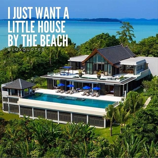 I Just Want A Little House By The Beach