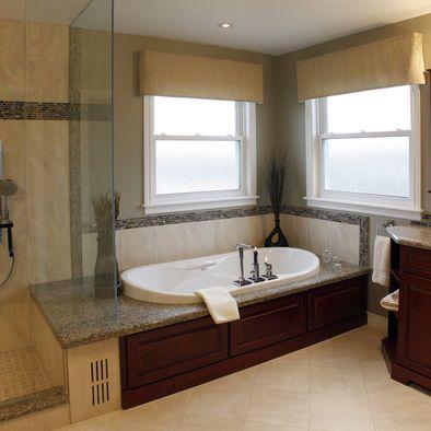 master bathtub tile ideas design, pictures, remodel, decor