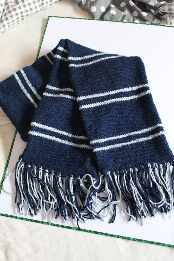 Ravenclaw Scarf by NiekArt | #knitterplease | Pinterest | Schals ...