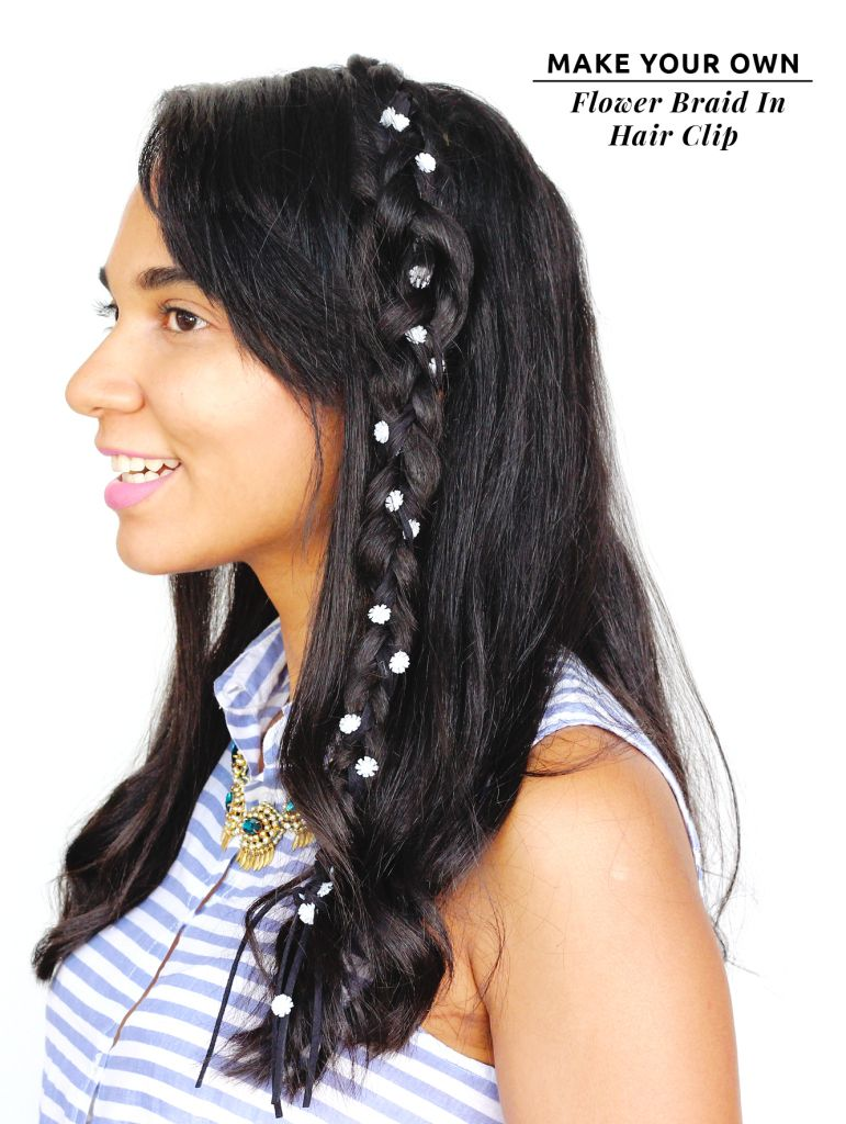 DIY Items // Flower Braid In Hair Clip - The Key ItemThe Key Item
