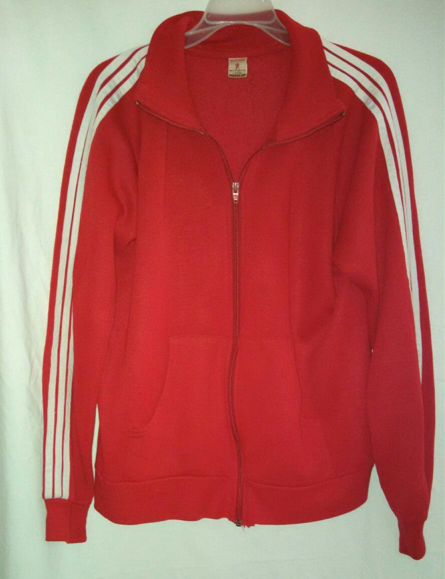 Athletic s s vintage red tracksuit royal tanenbaums larg warmup