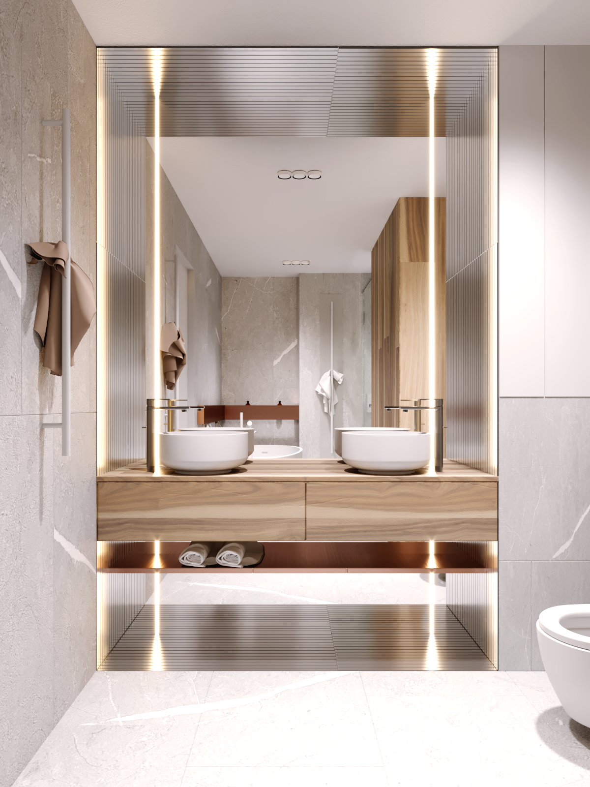 COCOON bathroom vanity design inspiration  modern washbasins