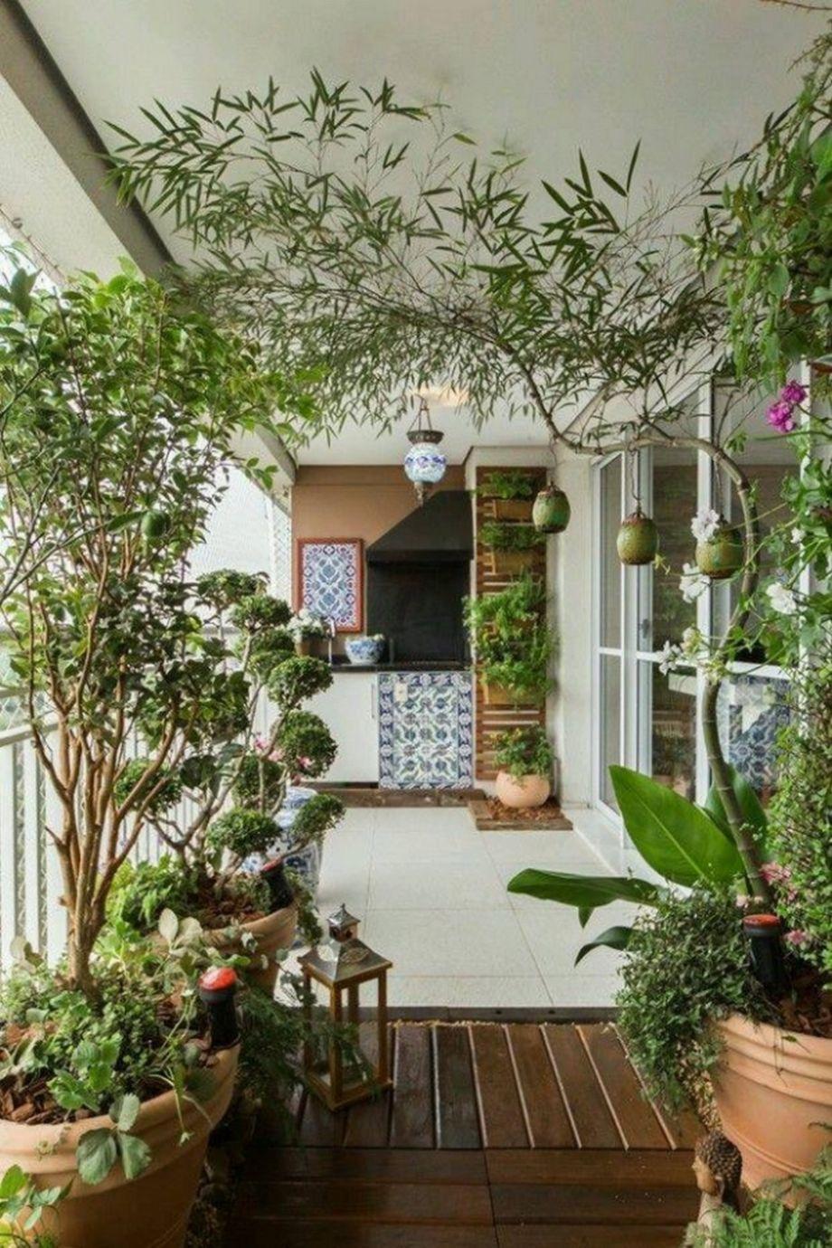 60 Amazing Small Balcony Garden Design Ideas Small