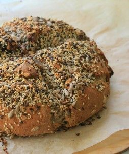 Thermomix recipe: Seeded Cob Loaf · Tenina.com