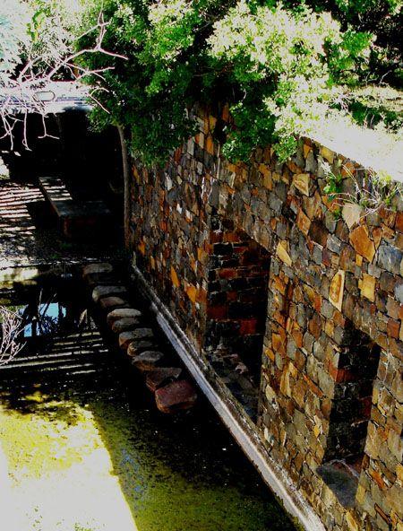 Courtyard Spill Pool Derelict Coromandel House Lydenburg