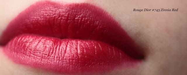 Rouge Dior #743 Zinnia Red