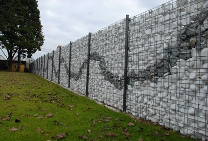 Build Rock Walls With No Concrete With Images Fence Design