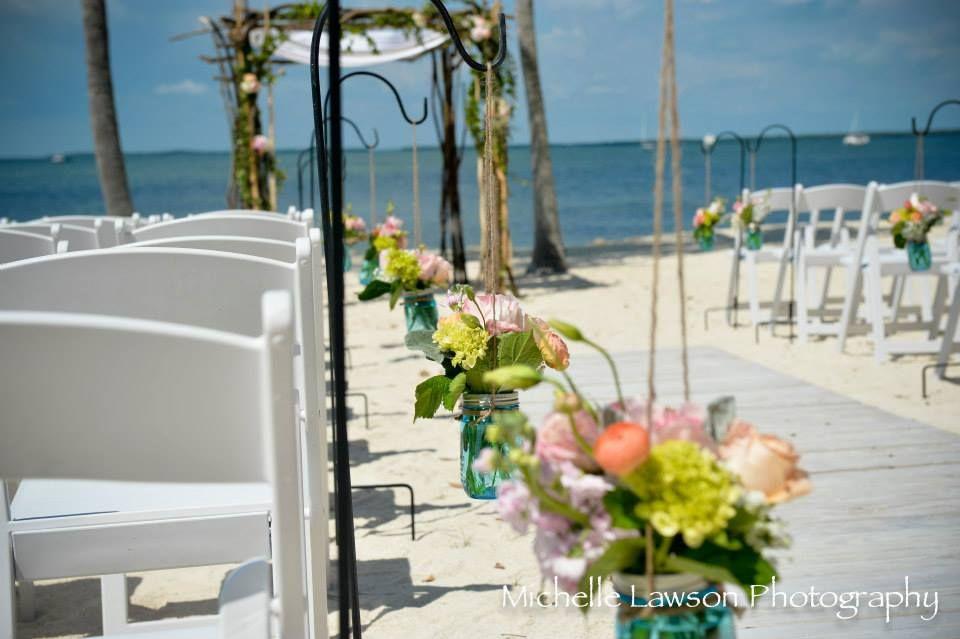 Rustic Vintage Beach Wedding In Florida Fl Keys Ideas