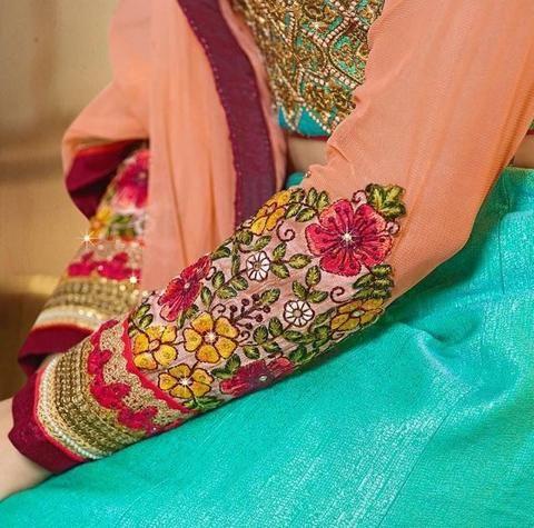 Sky Blue Silk Best Lehenga Online ,Indian Dresses - 2