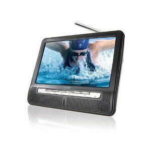 Coby TF-TV790 Portable 7 inch Widescreen TFT LCD TV with Digital ATSC Tuner and Full Function Wireless Remote