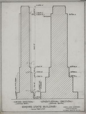 empire state building plan - Google\'da Ara | Skyscraper | Pinterest