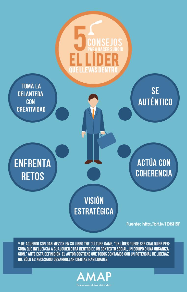 5 consejos para hacer surgir el líder que llevas dentro