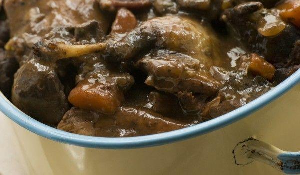 Празнично ястие със заек - Рецепта. Как да приготвим Празнично ястие със заек. Заекът се накисва в студена вода с ...
