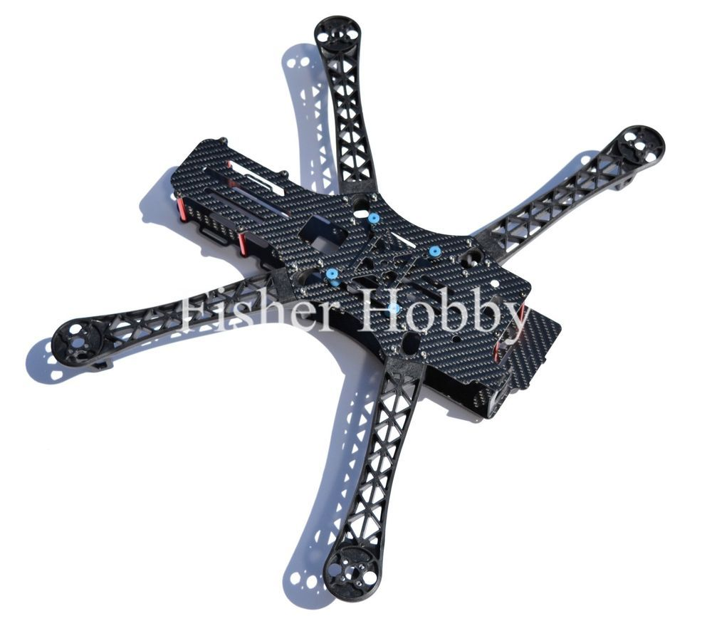 REPTILE MWC X-Mode Full Carbon Fiber Alien Multicopter 500mm ...