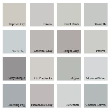 Interior Paint Color Grey Google Search