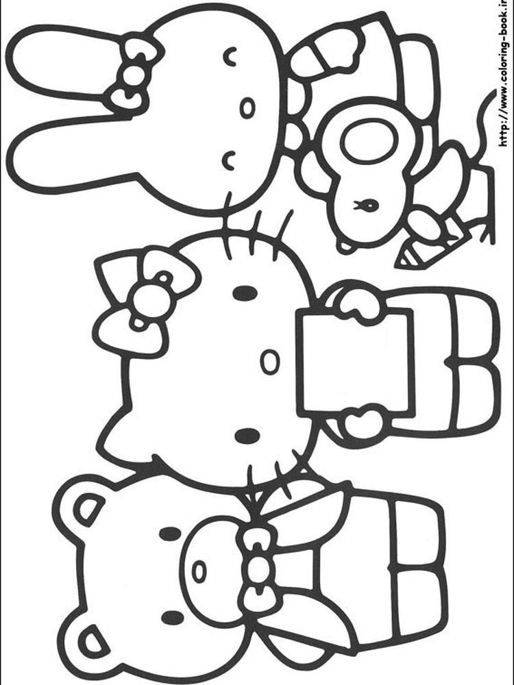 Hello Kitty Baking Coloring Pages When We First Heard Hello Kitty The First One That Occurred Hello Kitty Colouring Pages Hello Kitty Coloring Kitty Coloring