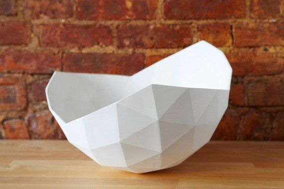 i've never wanted a $400 bowl so badly in my life. Ceramic Geo Bowl by ButterscotchofBK on Etsy, $400.00