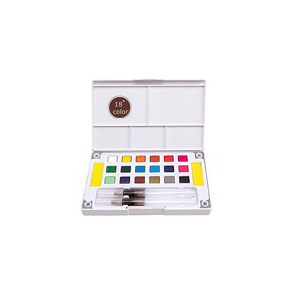 Bianyo 30 36 Colors Acrylic Paints Set Portable Paints For