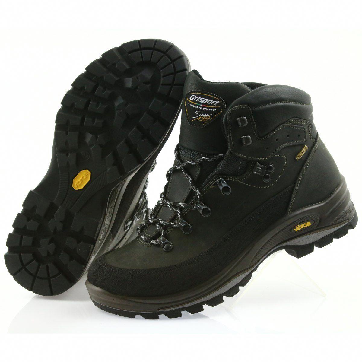 Trekkingowe Meskie Grisport Grisport Czarne Buty Trekkingowe Trailshoes Trekking Shoes Boots Shoes