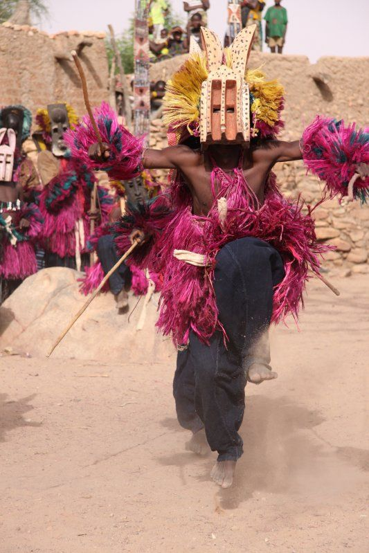 dogon dance in Mali