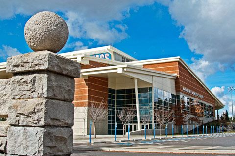 Mccarthey Athletic Center The Kennel Bulldogs Ncaa Wcc Water Feature Gonzaga University Spokane Wa 031611go Gonzaga University Gonzaga Gonzaga Bulldogs